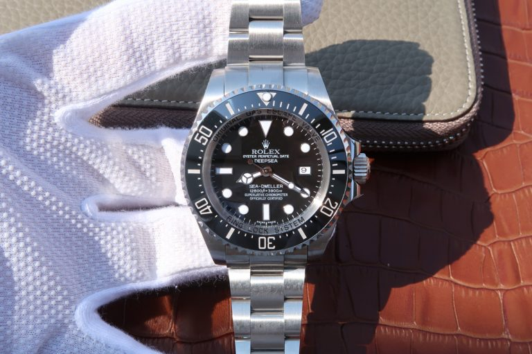 Replica Rolex Sea Dweller Deepsea Black