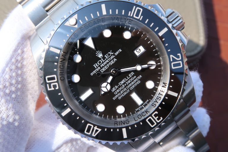 Replica Rolex Sea Dweller Deepsea Black Dial