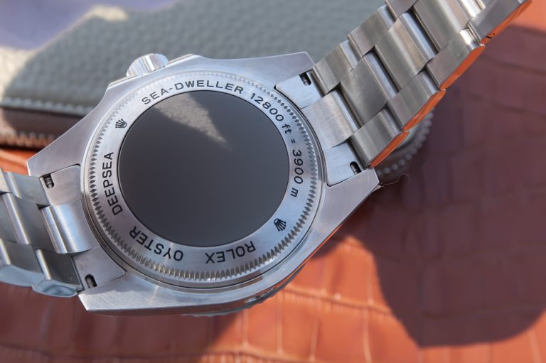 Replica Rolex Sea Dweller Deepsea Case Back
